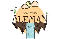 Aleman serif font Product Image 1