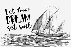 Black Sail Brush Font Product Image 4