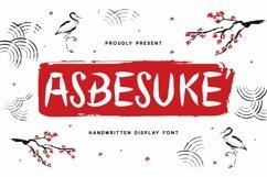 Web Font Abesuke Display Font Product Image 1