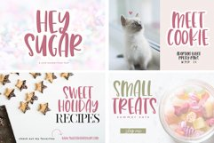 The Sweet Font Bundle - 14 Fun & Quirky Fonts Product Image 5