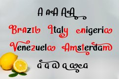 Lemongrab    Handwritten Font Product Image 3