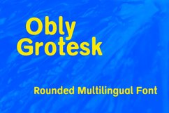 Obly Grotesk Product Image 1