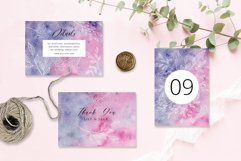 Hand Drawn Floral Wedding Invitation Set Product Image 2