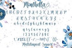 Monthella Script Product Image 6