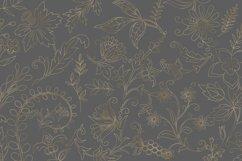 Gold Botanical Outline Elements Product Image 2