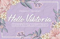 Hello Viktoria - Handwritten Script Font Product Image 1