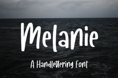 Melanie - A Handlettering Font Product Image 1