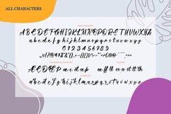 Caretha   Handwritten Script Font Product Image 4
