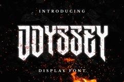 Web Font Odyssey Font Product Image 1