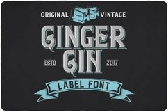 Ginger Gin Product Image 1