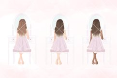 Shabby Chic Girl Room Clipart Product Image 2