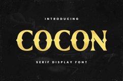 Web Font Cocon Font Product Image 1
