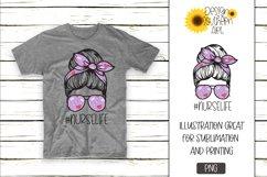 Sublimation Designs for Tshirts Nurse LIfe Hero Design Product Image 1