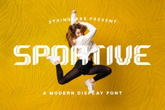 Sportive - Modern Display Font Product Image 1