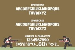 Military Kid - Stencil Army Kids Font Product Image 2