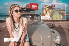 18 Miami Photoshop Actions, ACR, LUT Preset bright summer fi Product Image 1
