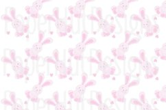 Baby Girl Clipart and Digital Papers Set Product Image 2