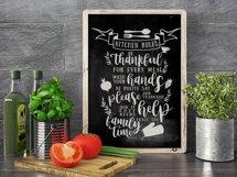 Happy Kitchen SVG Cut File Bundle Product Image 4