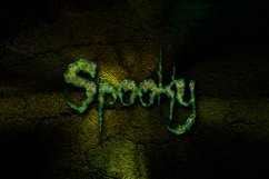 8 Spooky Text Effects on Fully Editable PSD Templates Product Image 2