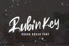 Rubin Key - Brush Font Product Image 1