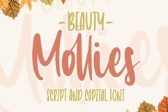Beauty Mollies   Font Duo Product Image 1