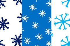 Christmas bundle with snowflakes and patterns Product Image 2