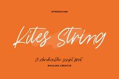Kites String Handwritten Font Product Image 1