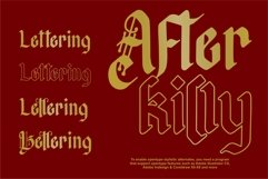 Afterkilly - New Blackletter Product Image 3