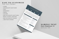 Professional Resume Template Bundle, Cover Letter, Reference Product Image 5