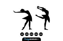 Ballerina Silhouettes Product Image 1