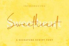 Web Font Sweetheart Font Product Image 2