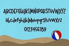 Beachball a Fun Summer Font Product Image 2