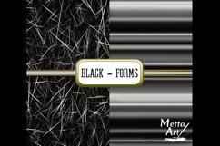 Black Forms - 10 Digital Papers/Backgrounds Product Image 4