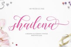 Shailena Script Product Image 1