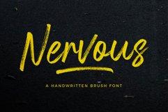 Nervous Brush Font Product Image 1