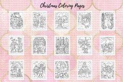 Coloring Pages For Kids - 15 Christmas Pages Product Image 2