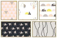 Pastel Geometric Patterns Product Image 4