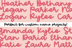 Peach Market - A Handwritten Script Font Product Image 6