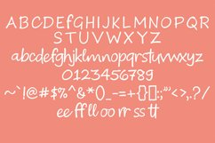 Calebor - Handwritten font Product Image 7