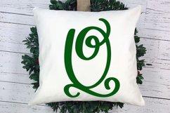 Joyful Monogram - Christmas Monogram Font Product Image 2