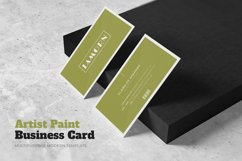 Artist Painting Business Card Product Image 1