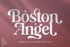 Boston Angel - Modern & Elegant Serif Product Image 1