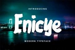 Enicye | Modern Typeface Font Product Image 1