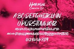 Harashi Handwritten Brush Font Product Image 5