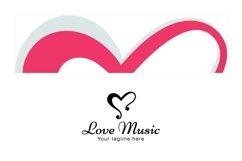 Love Music - Alphabetic Stock Logo Template Product Image 3
