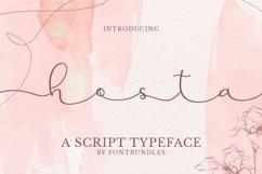 Web Font Hosta Product Image 1