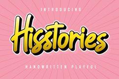 Hisstories - Handwritten Playful Product Image 1