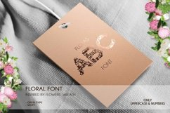 Floras - A Floral Font Open Type / Woff Product Image 2