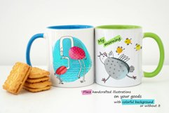 6 illustrations about Baby and Mom Product Image 2