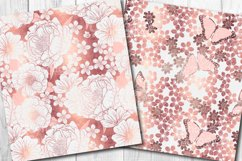 Rose Gold Butterfly Pattern Collection Product Image 2